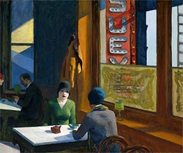 Chop Suey | Hopper | Painting Reproduction