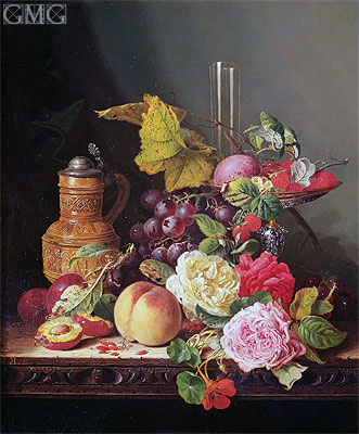 Still Life, undated | Edward Ladell | Painting Reproduction