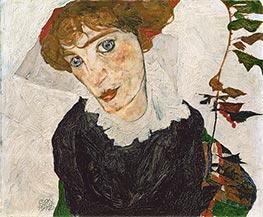 Bildnis Wally, 1912 von Schiele | Gemälde-Reproduktion