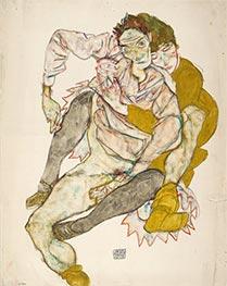 Seated Couple, 1915 von Schiele   Gemälde-Reproduktion