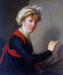 Self-Portrait, 1800 von Elisabeth-Louise Vigee Le Brun | Gemälde-Reproduktion