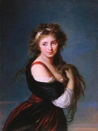 Hyacinthe Gabrielle Roland, Marchioness Wellesley | Elisabeth-Louise Vigee Le Brun | Painting Reproduction