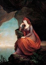 Portrait of Pricess Maria Josepha Hermenegilde von Liechtenstein, later Princess Esterhazy as ariadne on Naxos, 1793 von Elisabeth-Louise Vigee Le Brun | Gemälde-Reproduktion