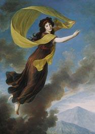 Portrait of Princess Karoline von Liechtenstein, nee Countess von Manderscheit as Iris, 1793 von Elisabeth-Louise Vigee Le Brun | Gemälde-Reproduktion
