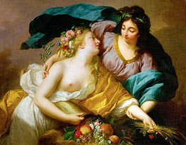 Peace Leads Abundance, 1780 by Elisabeth-Louise Vigee Le Brun | Painting Reproduction