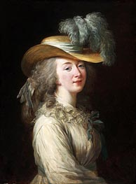 Portrait of Madame Du Barry, 1781 by Elisabeth-Louise Vigee Le Brun | Painting Reproduction