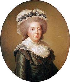 Portrait of Adelaide de France, 1791 by Elisabeth-Louise Vigee Le Brun | Painting Reproduction