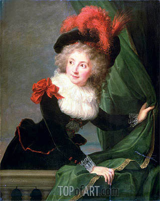 Elisabeth-Louise Vigee Le Brun | Madame Perregaux, 1789