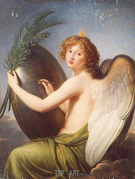 Elisabeth-Louise Vigee Le Brun | Genius of Alexander I, 1814