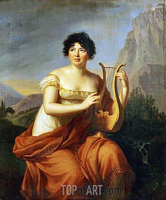 Elisabeth-Louise Vigee Le Brun | Madame de Stael, as 'Corinne', 1807