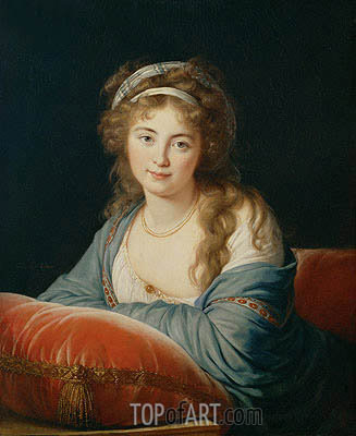 Elisabeth-Louise Vigee Le Brun | The Countess Catherine Vassilievna Skavronskaia, 1796