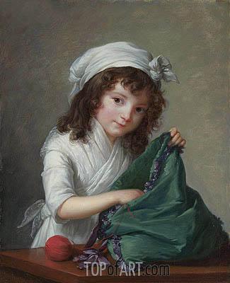 Elisabeth-Louise Vigee Le Brun | Mademoiselle Brongniart, 1788