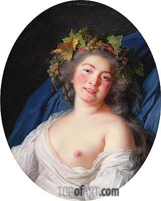 Elisabeth-Louise Vigee Le Brun | Bacchante, 1785