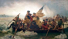 Washington Crossing the Delaware, 1851 by Leutze | Painting Reproduction