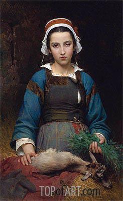 Emile Auguste Hublin | A Friend In Need, 1879