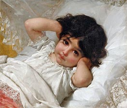 Portrait of Marie-Louise | Emile Munier | Painting Reproduction