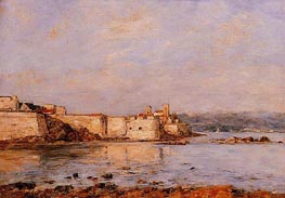 The Harbor of Antibes | Eugene Boudin | Painting Reproduction