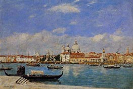 View of Venice, 1895 by Eugene Boudin   Painting Reproduction