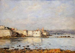 Antibes, the Fortifications, 1893 by Eugene Boudin | Painting Reproduction