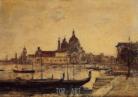 Eugene Boudin | Venise - Le Mole et la Salute, 1895