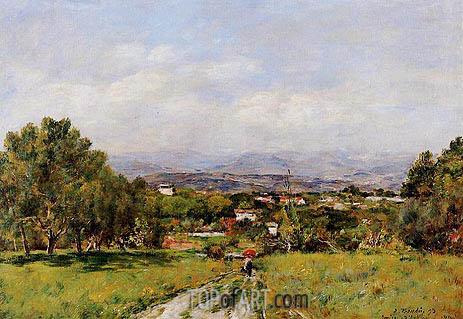 Eugene Boudin | Near Antibes, 1893
