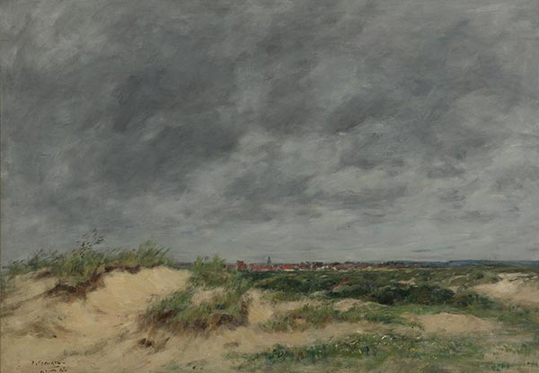 The Berck Dunes, 1886 | Eugene Boudin | Painting Reproduction