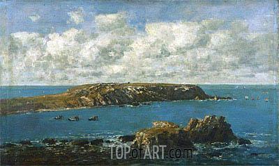Camaret, Le Toulinguet, c.1871/73 | Eugene Boudin | Painting Reproduction