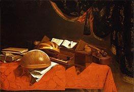Still Life with Musical Instruments | Baschenis | outdated