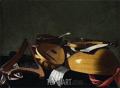 Baschenis | Musical Instruments, undated