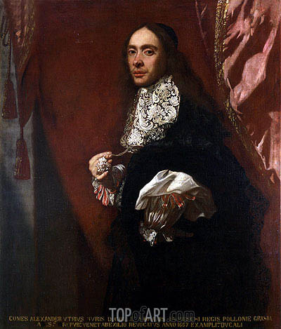 Baschenis | Portrait of Conte Alessandro Agliardi, c.1675