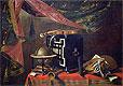 Still Life with Musical Instruments | Evaristo Baschenis