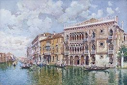 Ca' d'Oro, Venice, undated by Federico del Campo | Painting Reproduction
