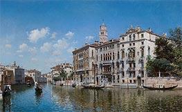 Palazzo Cavalli-Franchetti, Venice | Federico del Campo | Painting Reproduction