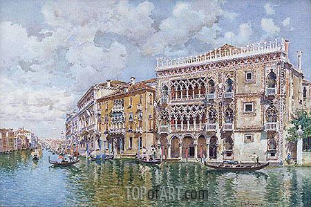 Federico del Campo | Ca' d'Oro, Venice, undated