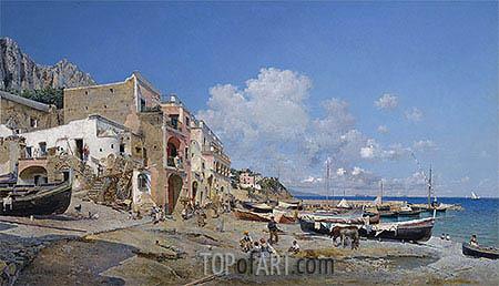 Federico del Campo | Capri, 1884