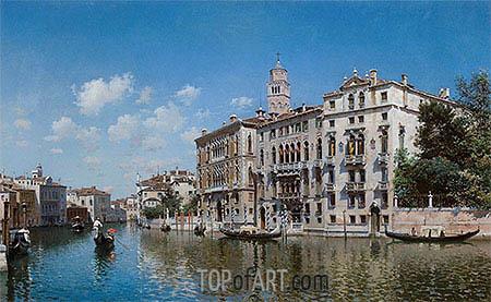 Federico del Campo | Palazzo Cavalli-Franchetti, Venice, 1890