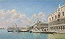 View towards the Doge's Palace and Santa Maria della Salute | Federico del Campo