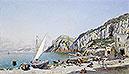 Beach at Capri | Federico del Campo
