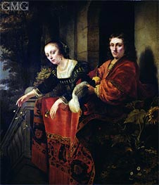 Portrait of a Husband and Wife | Ferdinand Bol | outdated
