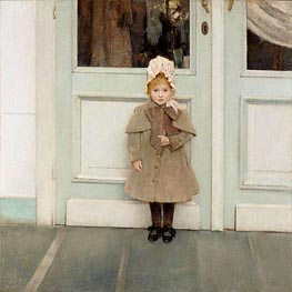 Jeanne Kefer, 1885 by Khnopff | Painting Reproduction