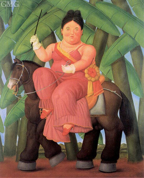 The First Lady, 1989 | Botero | Painting Reproduction