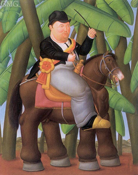 The President, 1989 | Botero | Painting Reproduction