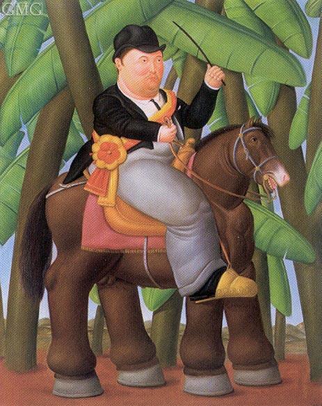 Botero | The President, 1989