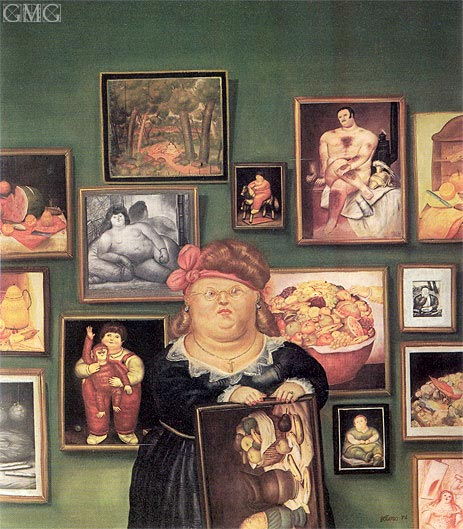 The Collector, 1974 | Botero | Painting Reproduction