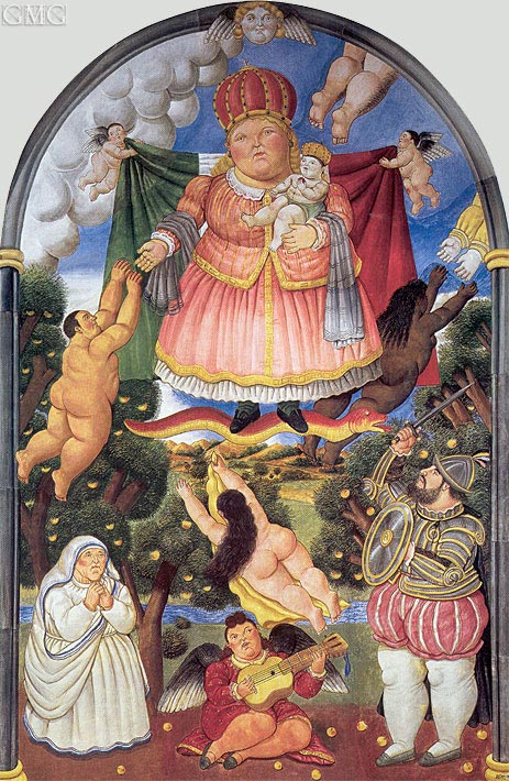 Gate of Heaven, 1993 | Botero | Gemälde Reproduktion