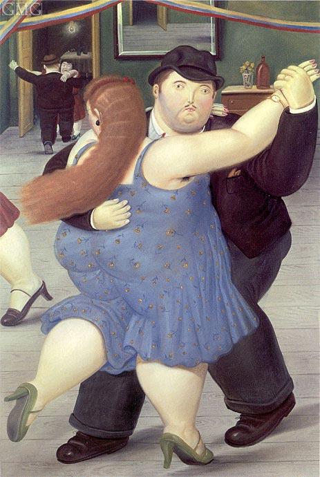 Botero | Dancers, 1987