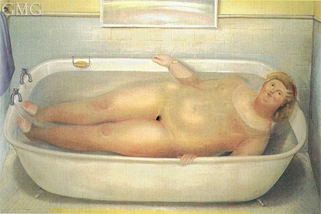 Homage to Bonnard, 1975 | Botero | Painting Reproduction