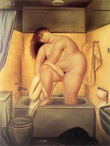 Botero | Homage to Bonnard, 1972