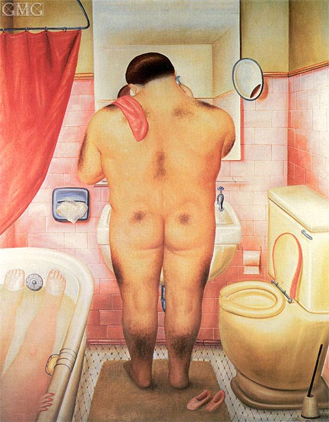 Homage to Bonnard, 1973 | Botero | Painting Reproduction