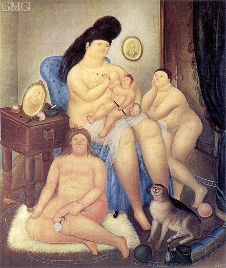 Botero | Protestant Family, 1969